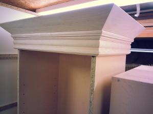 Custom fit crown moldings